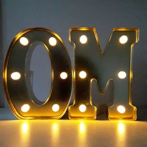 "Other - HOME DECORS LIGHT UP LETTERS ""M"" & ""O"""